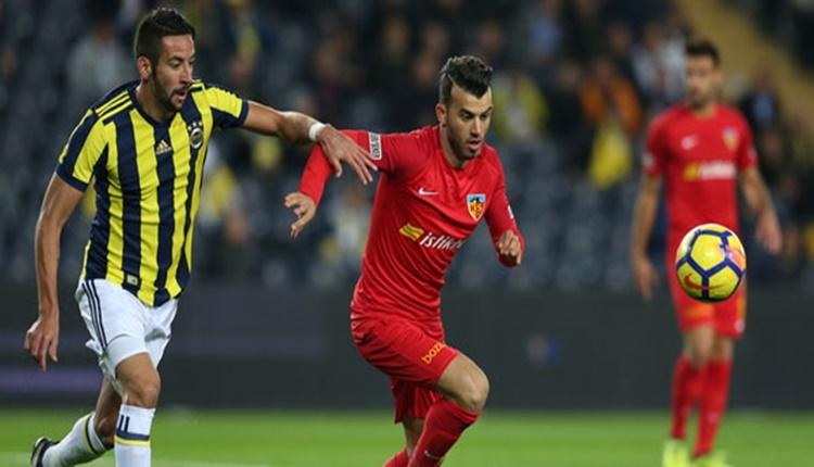 Kayserispor'da bu sezon en çok oynayan futbolcular