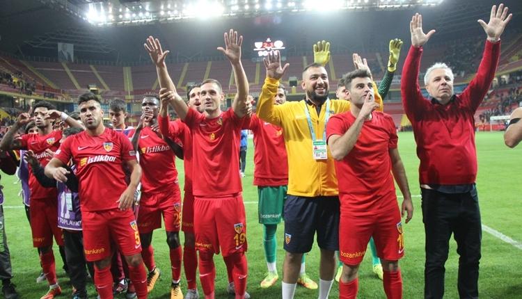 Kayserispor'da Sumudica, Galatasaray'ı örnek gösterdi
