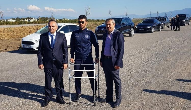 Kenan Sofuoğlu kazadan sonra ilk kez ayağa kalktı
