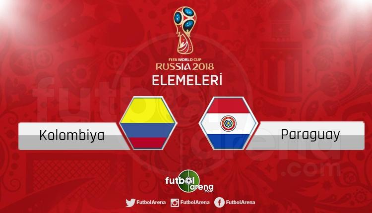 Kolombiya Paraguay canlı skor, maç sonucu - Maç hangi kanalda?