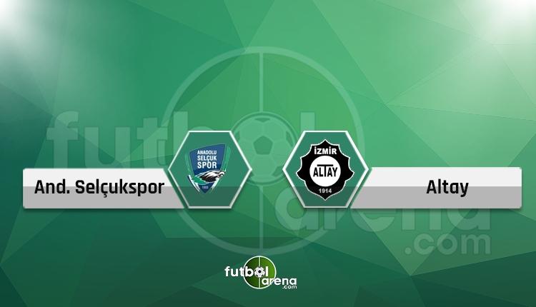 Konya Anadolu Selçukspor - Altay canlı skor, maç sonucu, naklen ve şifresiz izle