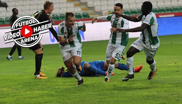 Konyaspor 1-0 Osmanlıspor maçı özeti ve golü (İZLE)