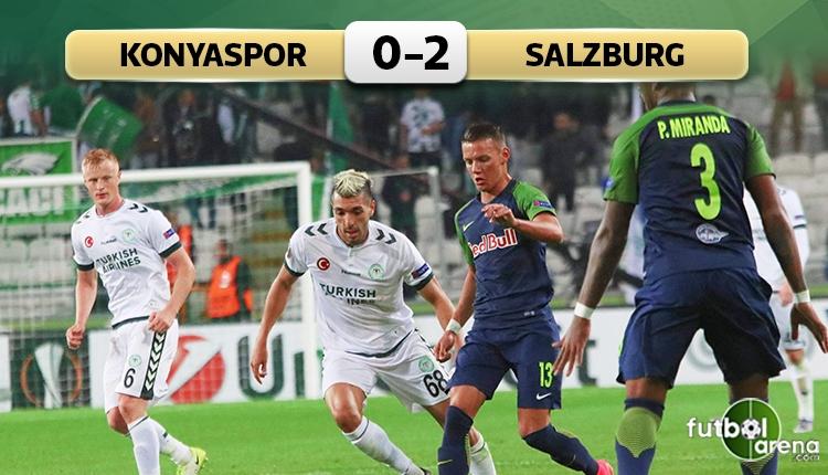 Konyaspor evinde Salzburg'a direnemedi