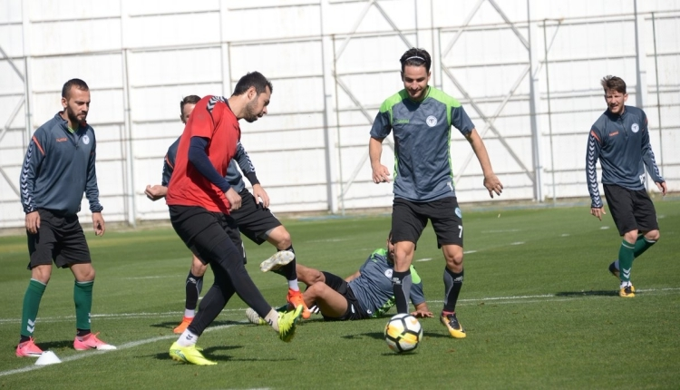 Konyaspor'da Kayseri maçı hazırlıkları tamamlandı