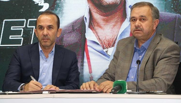Konyaspor'da Mehmet Özdilek gelecekten umutlu