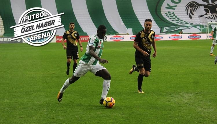 Konyasporlu Moryke Fofana, FutbolArena'ya konuştu