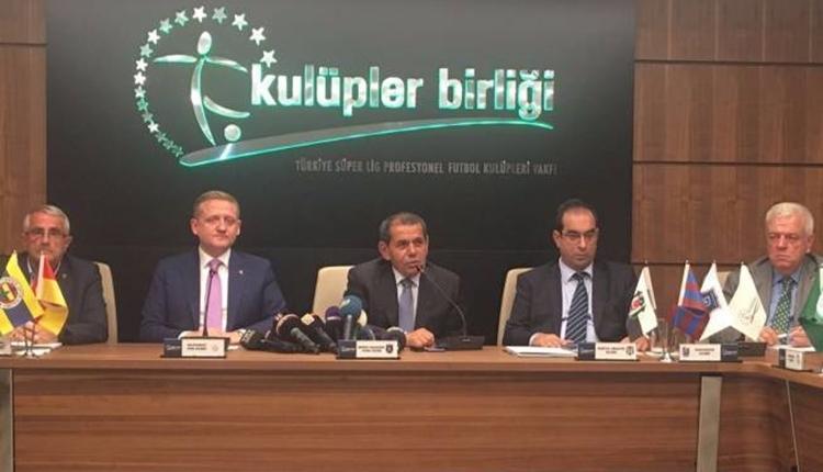 Kulüpler Birliği, hakemleri TFF'ye şikayet etti