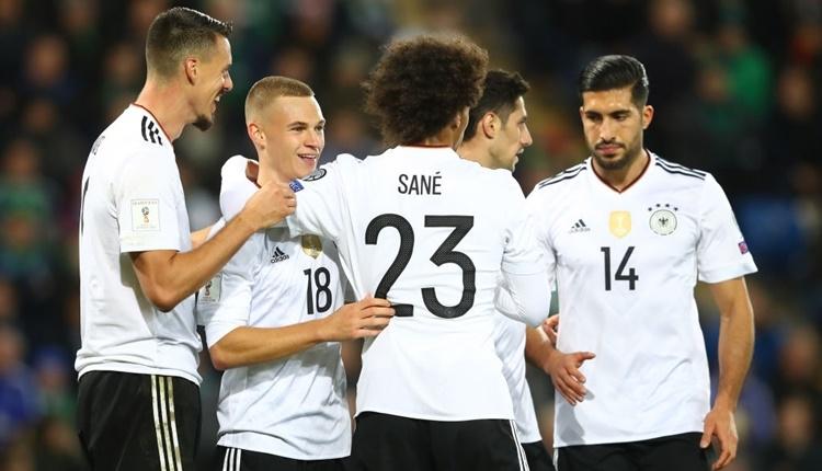 Kuzey İrlanda - Almanya maçı özeti ve golleri (İZLE)