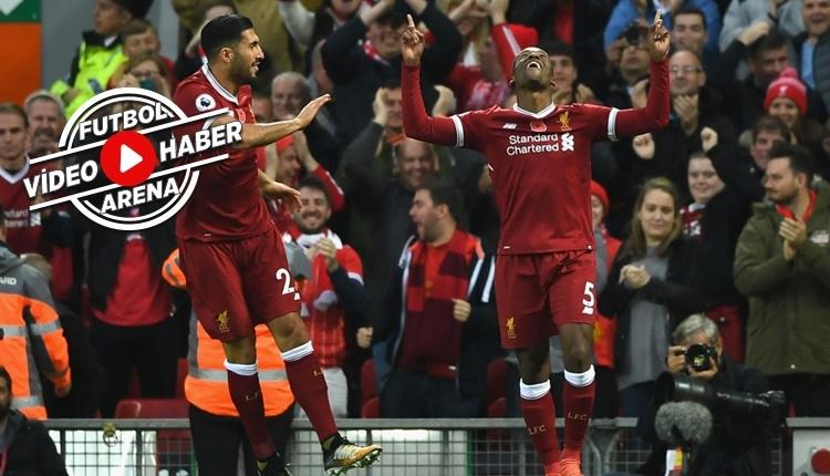 Liverpool 3-0 Huddersfield Town maçı özeti ve golleri (İZLE)