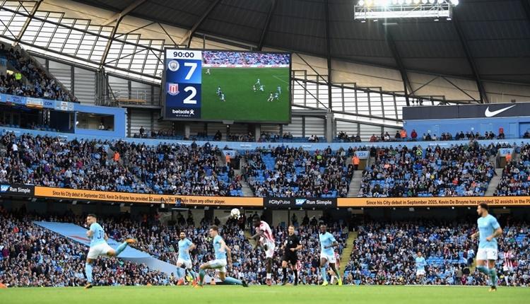 Manchester City 7-2 Stoke City maçı özeti ve golleri