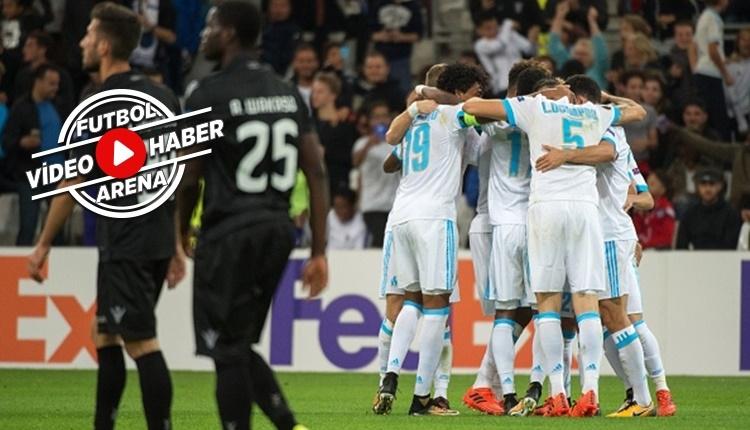 Marsilya 2-1 Vitoria Guimaraes maçı özeti ve golleri (İZLE)