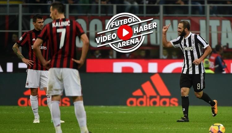 Milan 0-2 Juventus maçı özeti ve golleri (İZLE)
