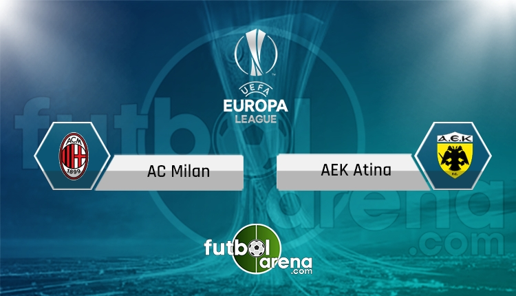 Milan - AEK canlı skor, maç sonucu - Maç hangi kanalda?