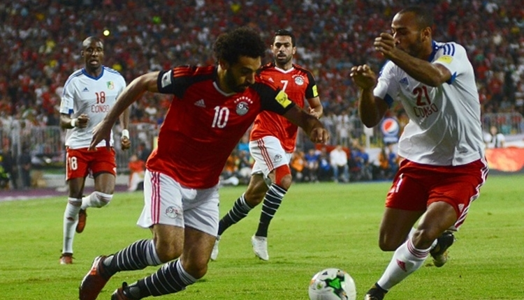 Mohamed Salah, Mısır'ı 2018 Dünya Kupası'na götürdü (İZLE)