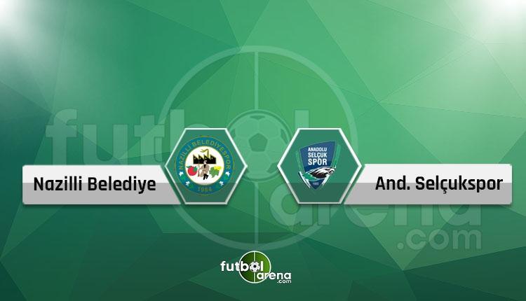Nazilli Belediyespor - Konya Anadolu Selçukspor canlı skor, maç sonucu - Maç hangi kanalda?