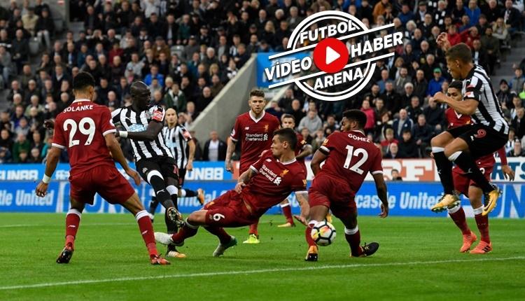 Newcastle United - Liverpool maçı özeti ve golleri (İZLE)