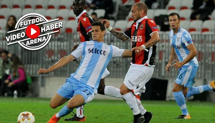 Nice 1-3 Lazio maçı özeti ve golleri (İZLE)