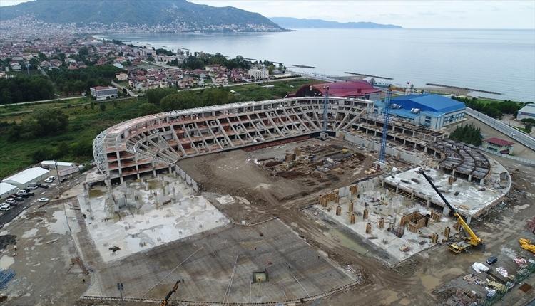 Orduspor'un yeni stadyumunda son durum