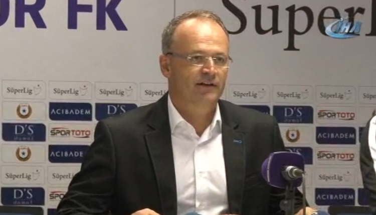 Osmanlıspor'da İrfan Buz'un galibiyet sözleri!