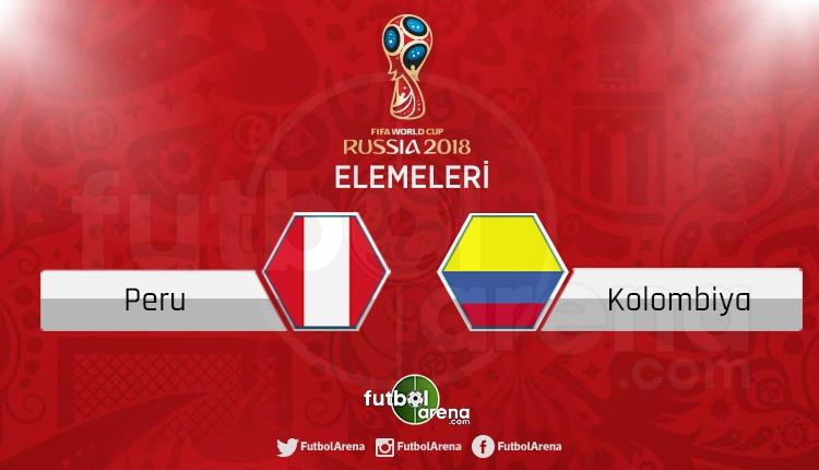 Peru Kolombiya canlı skor, maç sonucu - Maç hangi kanalda?