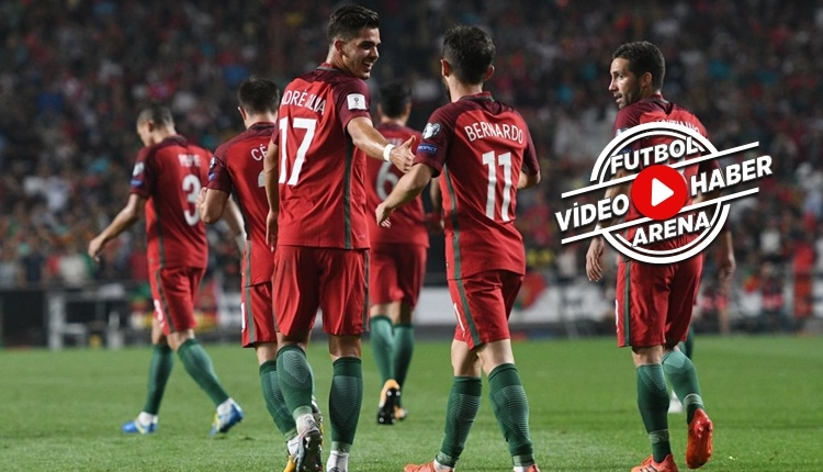 Portekiz, 2018 Dünya Kupası biletini aldı (İZLE)