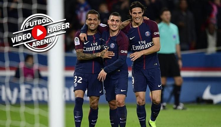 PSG 3-0 Nice maçı özeti ve golleri (İZLE)
