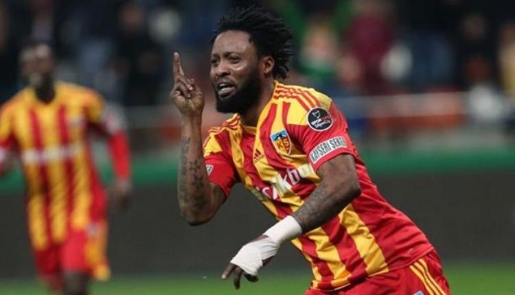 Kayserispor'a transferde Raheem Lawal sürprizi