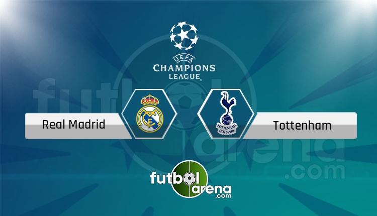 Real Madrid - Tottenham canlı skor, maç sonucu - Maç hangi kanalda?