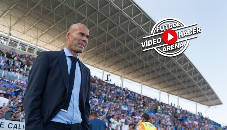 Real Madrid, Zidane'ın 100 maçında rekor kırdı (İZLE)