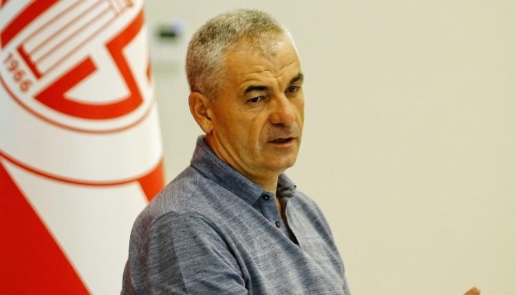 Rıza Çalımbay: ''Antalyaspor'da huzur yoktu''