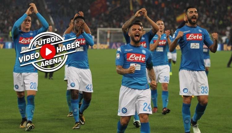 Roma 0-1 Napoli maçı özeti ve golü