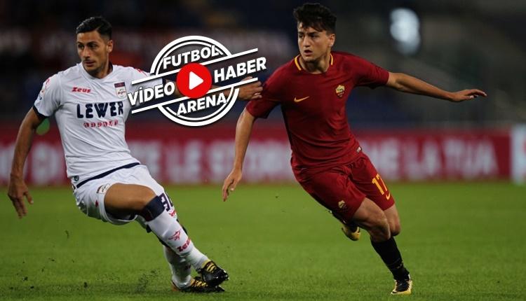 Roma 1-0 Crotone maçı özeti ve golü (İZLE)
