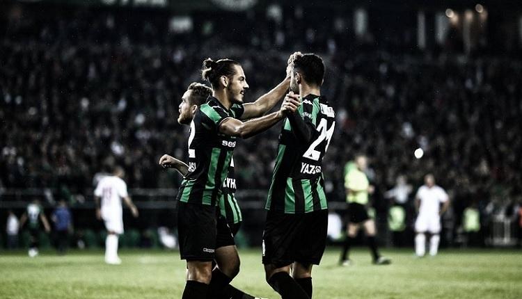 Sakaryaspor yeni stadındaki ilk maçta Kahramanmaraş'ı devirdi