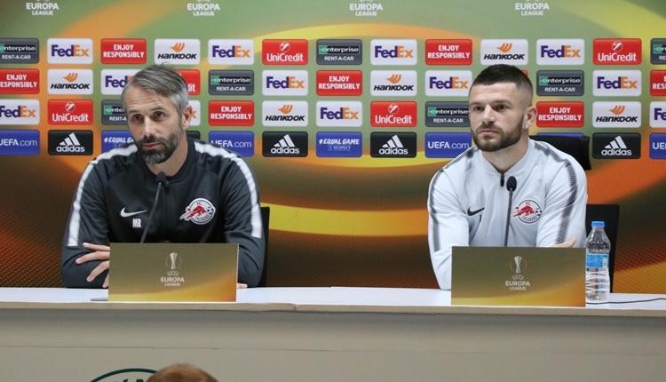 Salzburg'da Marco Rose'dan Konyaspor açıklaması