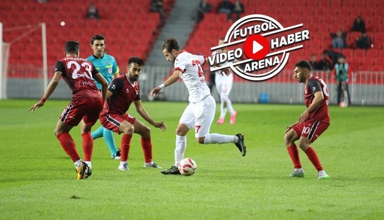 Samsunspor 3-0 Gaziantepspor maçı özeti ve golleri (İZLE)