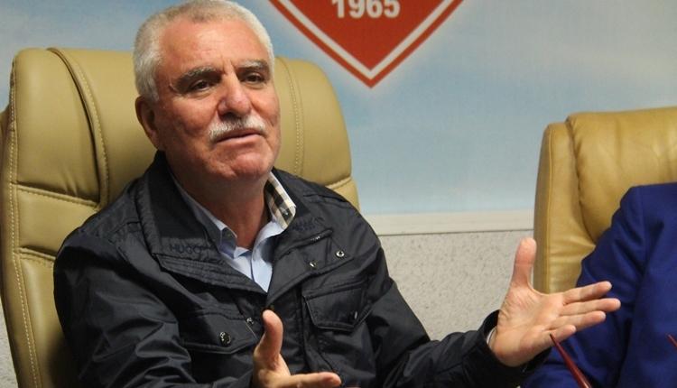 Samsunspor Başkanı Erkurt Tutu'dan ilginç çağrı! 'Sırtımda taşırım'