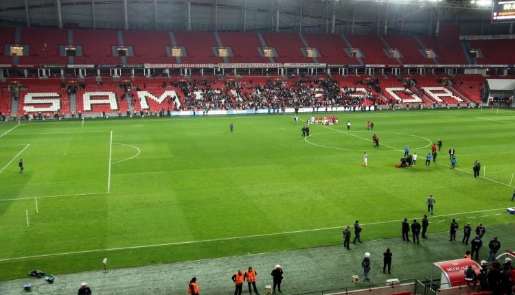 Samsunspor'un stadının zemini sınavı geçti