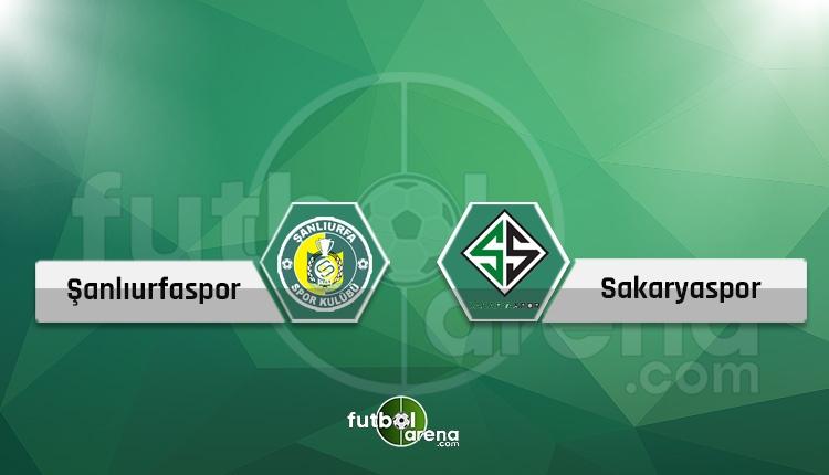Şanlıurfaspor - Sakaryaspor canlı skor, maç sonucu, maç hangi kanalda?
