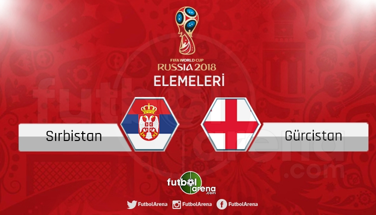 Sırbistan Gürcistan canlı skor, maç sonucu - Maç hangi kanalda?