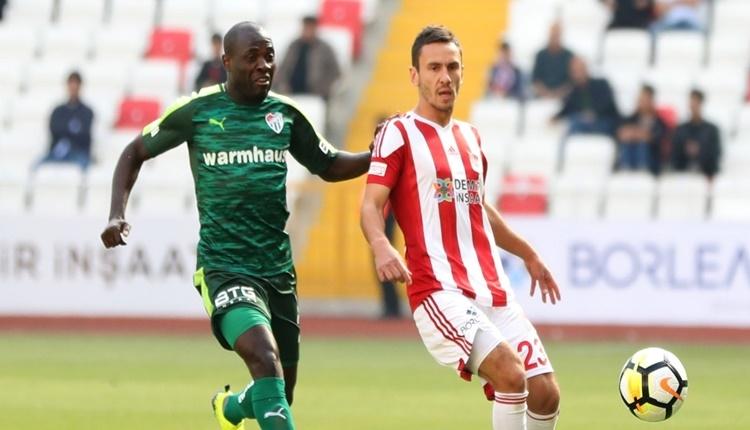 Sivasspor - Bursaspor maçında kazanan yok