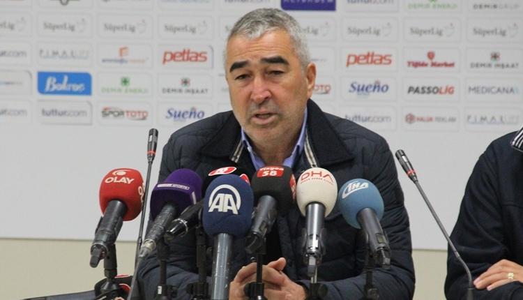 Sivasspor'da Samet Aybaba'dan oyuncularına eleştiri