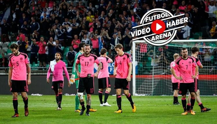 Slovenya - İskoçya maçı özeti ve golleri (İZLE)