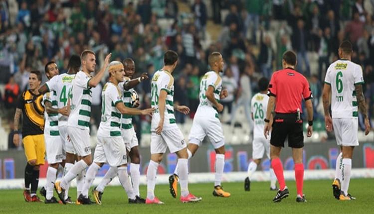 Süper Lig'de Bursaspor'un 15 golü yabancılardan