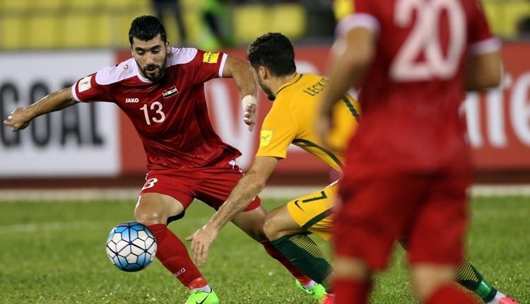 Suriye, 2018 Dünya Kupası play-off maçında Avustralya ile yenişemedi