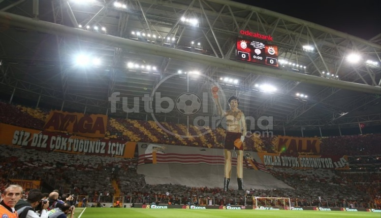 Tartışılan Galatasaray koreografisi hakkında flaş gelişme