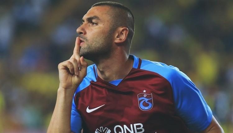 Trabzonspor'da Burak Yılmaz, Akhisar'ı boş geçmiyor