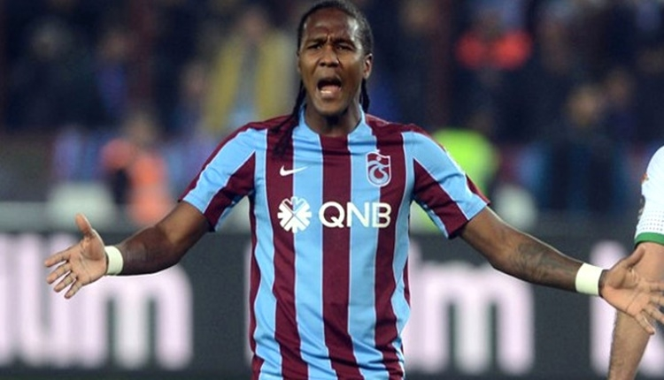 Trabzonspor'da Hugo Rodallega'ya 3 maç ceza!