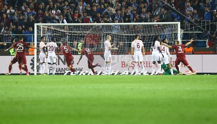 Trabzonspor'da N'Doye attığı golle Galatasaray'ın kabusu oldu