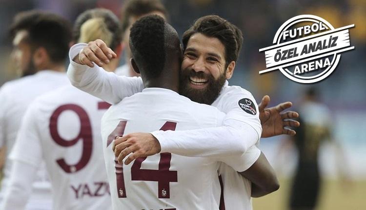 Trabzonspor'da Olcay Şahan farkı...