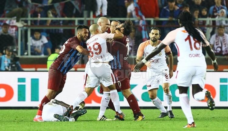 Trabzonspor'da Olcay Şahan'ın Galatasaray maçı kavga sonrası şok görüntüsü!